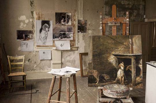 Andrew Wyeth S Ides Of March Opens Brandywine River
