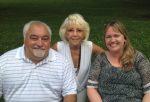 Larry Ferriola, Jr. Sofia Clinger and on the left Ann Eunson, PBA Treasurer