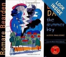 """The Sanderson Museum presents """"Li'l Dan, The Drummer Boy"""" by Romare Bearden."""