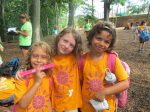 Campers enjoying a day at the West Chester Area YMCA summer camp. Camps of all kinds are available for preschoolers to teens.