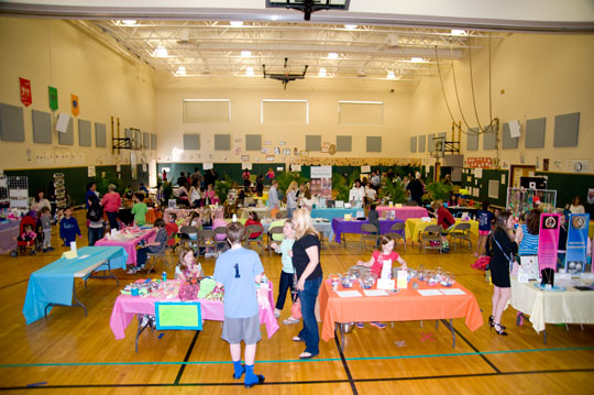 Pocopson Township, too, gets into the joy of saturday. It was the annual Art & Garden Sale at Pocopson Elementary School