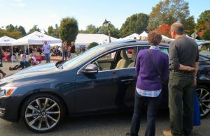 Performance cars on display were but one of the attractions at the 23rd Annual Dilworthtown Inn Wine Festival.