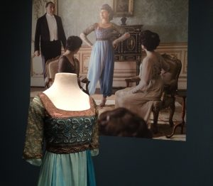 Lady Sybil shows her defiance by sporting the latest scandalous fashion: harem pants.