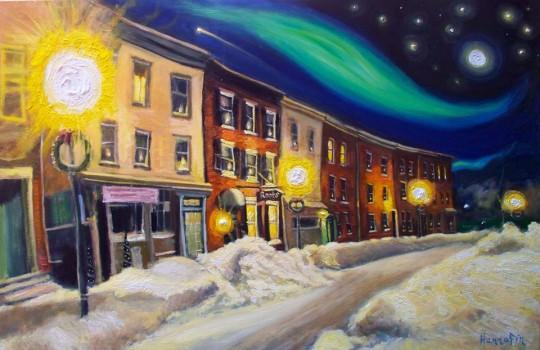 E Chester Artist Art Watch Hannafin show