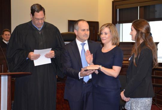 Michelle Kichine takes oath