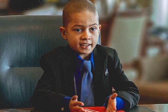Eight-year-old Farouk Al-Azzam enjoys a day at CIA Headquarters in Langley, Va.