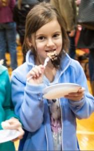 Ashley Vanderslice enjoys her time at the festival.