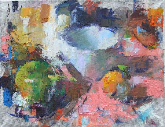 Abstract Still Life with Cup by John Murray