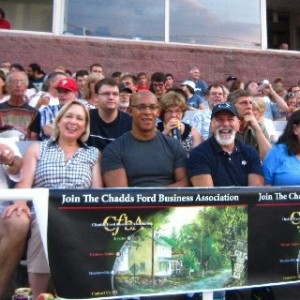 CFBA at Baseball Benefit