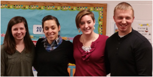 The Kennett Area Rotaract Club founding officers