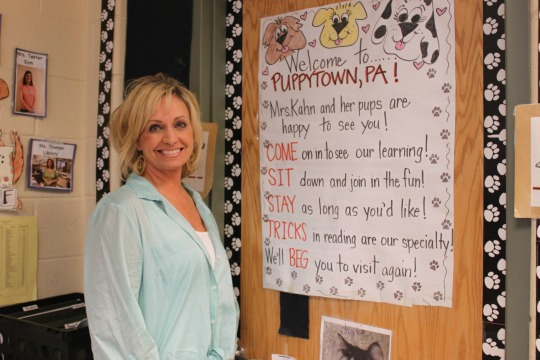 Pocopson Elementary School first-grade teacher Kelli Kahn has been named a Citadel Heart of Learning finalist for the second time.