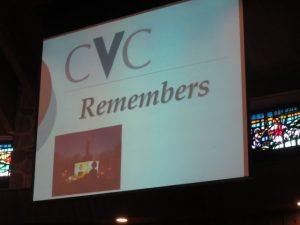 The Crime Victims' Center of Chester County Inc. holds a vigil every year to pay tribute to those who lost their lives to crime – or crime-fighting.