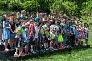 """Third-graders perform """"Who DO We Appreciate?"""""""