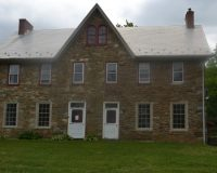 Work on the exterior of the historic Barnard House in Pocopson Township is nearing completion.