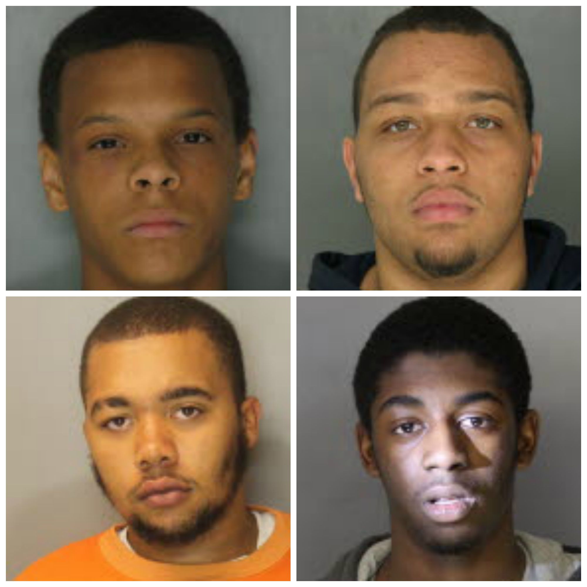 Gerald D. Myers III (clockwise from top left), Bryon Stevens, Onray L. Winfield and Darrell Woodward face murder charges in the shooting death of Cristian ... - murderPicMonkey-Collage