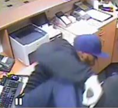West Goshen Township Police are hoping someone will recognize this alleged armed robber.