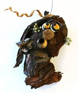 A witch crafted from natural materials collected by Brandywine Museum of Art volunteers will for sale at the museum starting on Oct. 15.