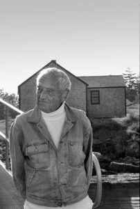 Andrew Wyeth, shown in a 1997 photo, will be the subject of his granddaughter Victoria's presentation on Nov. 21 at Westtown School.