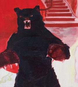 Angry Bear by Mercedes Deleguardia