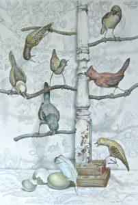 Bird Tree Mystery by Betz Green