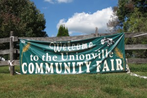 Organizers of the 2015 Unionville Community Fair say the fair doesn't need fair skies to entertain visitors.