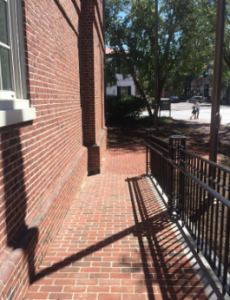 The Chester County Historical Society's front terrace makeover boasts more space for indoor-outdoor events.