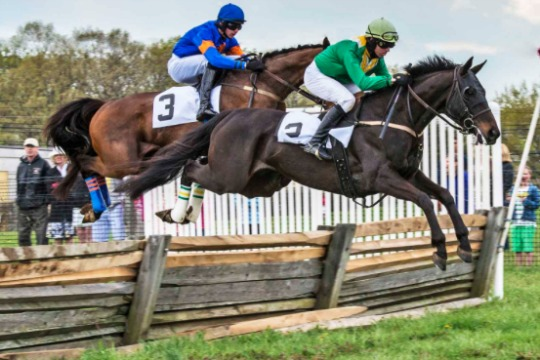 Thanks to leap year, Winterthur's Point-to-Point will be held May 8 followed by the Willowdale Steeplechase on May 15. Photo by Bob Hickock.