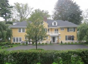 This 1906 borough residence first appeared on Chester County Day in 1938; since then, it has undergone extensive remodeling.