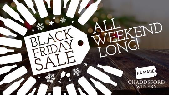 Make Black Friday Shopping Better... Add Wine!