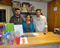 S&L Services co-owner Luis Ortiz (from left) and