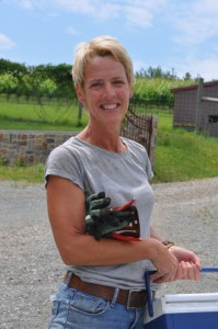 Galer Estate vineyard manager Jan Grimes