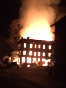Castle inferno captured by Brandy Ashley