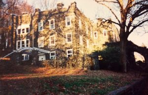 The front of Rocky Hill Castle is pictured in the fall. Photo courtesy of Brandy Ashley