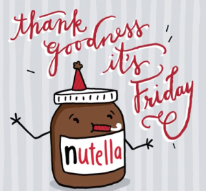In the animated world of Chrissy Eckman, Nutella jars love to celebrate.