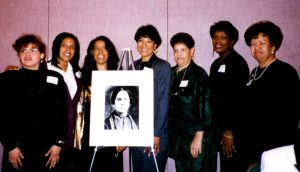 Female descendants of MASC in Dover at Hall of Fame for Delaware Women induction ceremony