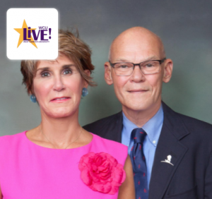Mary Matalin (left) and James Carville will present