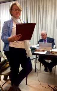 Mary Hutchins, executive director of Historic Kennett Square, discusses the borough's Revolving Loan Fund.