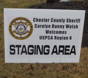 Chester County Sheriff Carolyn 'Bunny' Welsh