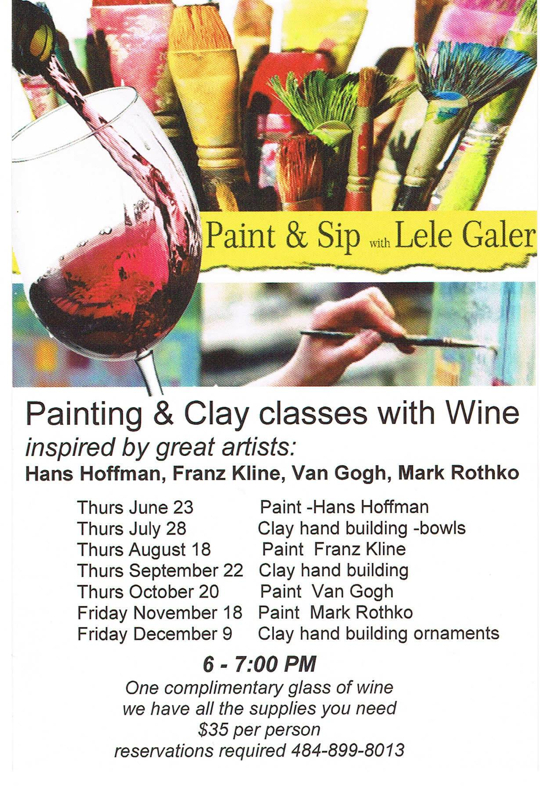 Paint & Sip with Lele
