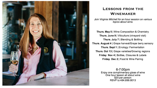 Lessons from the winemaker