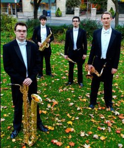 Project Fusion, a saxophone quartet, will perform at the Brandywine River Museum of Art on Thursday, April 21, at 7 p.m
