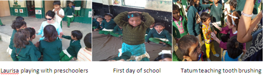 First day of school at Pardada Pardadi India