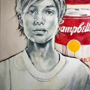 """""""O Warhol"""" by Jeff Schaller, founder of the Chester County Studio Tour, Downingtown"""