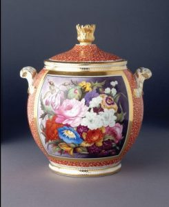 """Flowery Thoughts: Ceramic Vases & Floral Ornament at Winterthur"" opens May 28 at the Brandywine River Museum of Art"