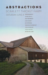 Scarlett Thicket Barn Show - this weekend