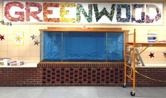 Greenwood Elementary School Mural