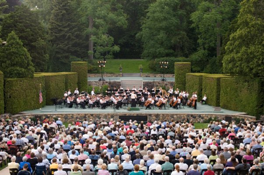Longwood Gardens Concert Series Garden Ftempo