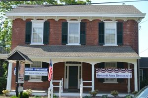 The public is invited to the grand opening of the Kennett Area Democrats' headquarters in Kennett Square on Sunday, July 24, from 1 to 4 p.m.