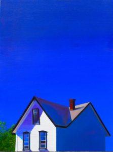 Blue Sky over Marshalton by David Katz