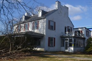 Work is beginning to stabilize the historic Fussell House in Kennett Township.